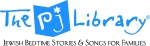 (r) cmyk PJ Library logo with tagline and pieces